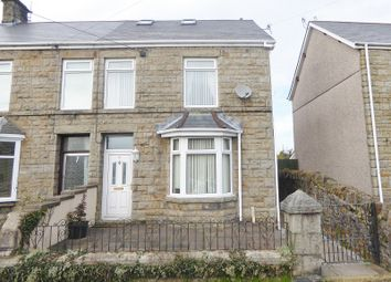 Thumbnail 3 bed semi-detached house for sale in Pandy Road, Aberkenfig, Bridgend.