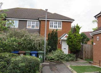 Thumbnail 2 bed maisonette for sale in Dudley Close, Chafford Hundred, Grays
