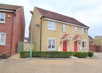 Thumbnail 2 bed semi-detached house for sale in Merlin Close, Brockworth
