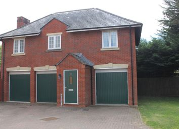 Thumbnail 2 bed flat for sale in Heyridge Meadow, Cullompton, Devon