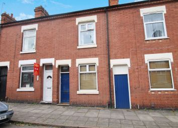 Thumbnail 2 bed terraced house for sale in Leopold Road, Clarendon Park, Leicester