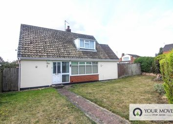 Thumbnail 3 bed bungalow for sale in Westwood Avenue, Lowestoft