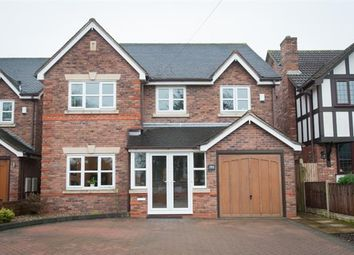 Thumbnail 5 bed detached house for sale in Foley Road West, Streetly, Sutton Coldfield