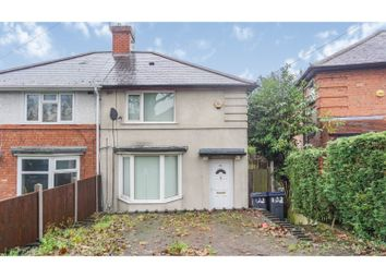 Thumbnail 3 bed semi-detached house for sale in Edgware Road, Birmingham