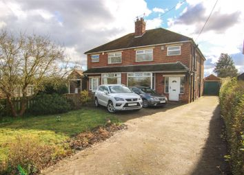 Thumbnail 3 bed semi-detached house for sale in Gainsborough Road, Middle Rasen