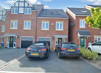 Thumbnail 3 bed town house for sale in Hornbeam Close, Great Moor, Stockport, Cheshire