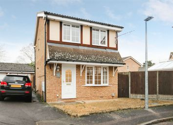 Thumbnail 3 bed detached house for sale in Naylor Avenue, Kempston, Bedford