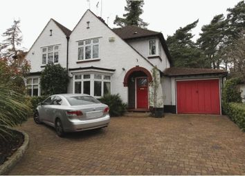 Thumbnail 3 bed semi-detached house for sale in Woodmansterne Road, Carshalton