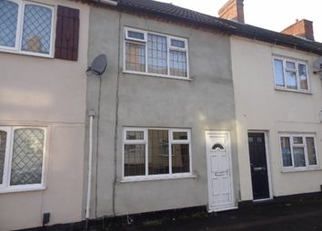 Thumbnail 2 bedroom terraced house to rent in Cross Street, Kettlebrook, Tamworth