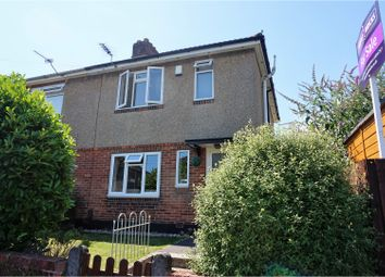 Thumbnail 3 bed semi-detached house for sale in Shakespeare Road, Bournemouth