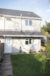 Thumbnail 3 bed semi-detached house for sale in Clwt-Y-Bont, Caernarfon