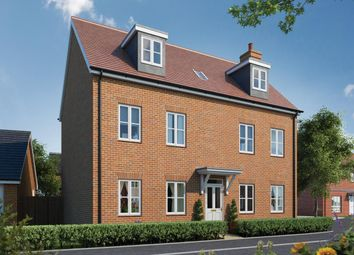 Thumbnail 5 bedroom detached house for sale in Canalside View, Broughton, Aylesbury