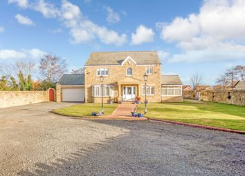Thumbnail 4 bedroom detached house for sale in North End, Longhoughton, Alnwick