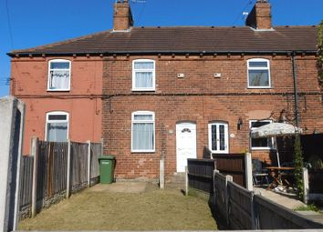 Thumbnail 2 bed terraced house to rent in Recreation Drive, Shirebrook, Mansfield