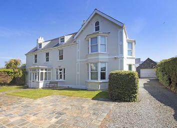 Thumbnail 6 bed detached house for sale in Route Militaire, St Sampson's, Guernsey