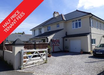 Thumbnail 4 bed semi-detached house to rent in Goosewell Road, Goosewell, Plymouth
