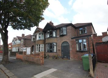 Thumbnail 4 bedroom semi-detached house for sale in Moss Park Road, Stretford, Manchester