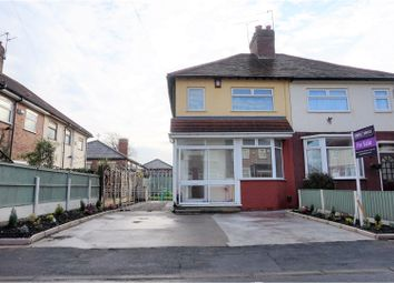 Thumbnail 2 bed semi-detached house for sale in Adcote Close, Liverpool