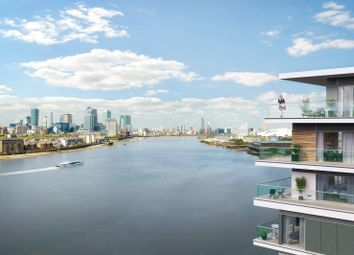 Thumbnail 3 bed flat for sale in The River Gardens, East Greenwich, London