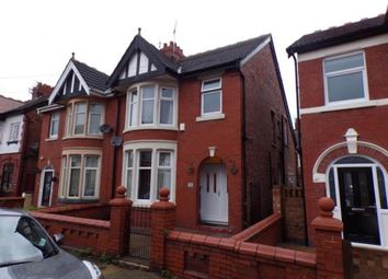 Thumbnail 3 bed property for sale in Gorse Road, Blackpool, Lancashire