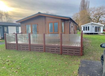 2 bed lodge for sale in New Bird Lake View, Billing Aquadrome, Northampton NN3