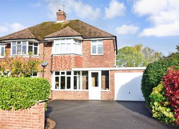 Thumbnail 3 bed semi-detached house for sale in Graydon Avenue, Donnington, Chichester, West Sussex