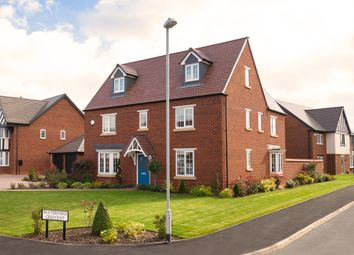 "Thumbnail 5 bed detached house for sale in ""Teddesley"" at Wedgwood Drive, Barlaston, Stoke-On-Trent"
