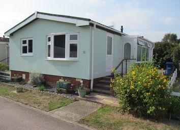 Thumbnail 1 bed mobile/park home for sale in Four Horseshoes Park (Ref 5990), Graveney, Faversham, Kent