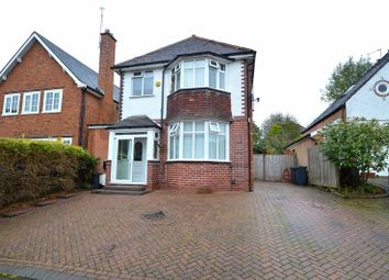 Thumbnail 3 bed detached house for sale in Leasowes Road, Kings Heath, Birmingham