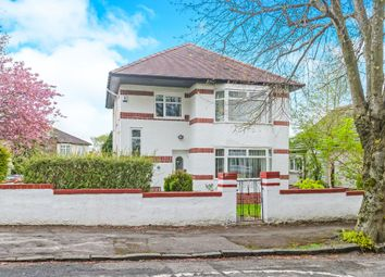 Thumbnail 3 bed detached house for sale in St Clair Avenue, Giffnock, Glasgow