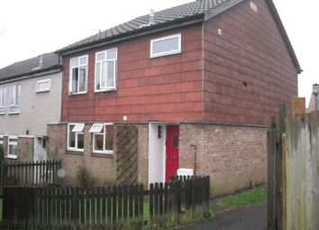 Thumbnail 3 bedroom end terrace house to rent in Lawns Wood, Telford