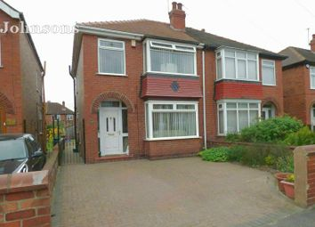 Thumbnail 3 bed semi-detached house for sale in Zetland Road, Town Moor, Doncaster.