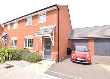 Thumbnail 3 bed semi-detached house for sale in Goldcrest Walk, Keynsham, Bristol