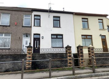 Thumbnail 2 bed terraced house to rent in Hospital Road, The Common, Pontypridd