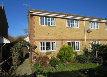 Thumbnail 2 bed semi-detached house for sale in Harrier Way, Beck Row, Bury St. Edmunds