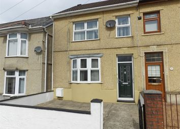 Thumbnail 3 bed end terrace house for sale in Brecon Road, Ystradgynlais, Swansea, Powys