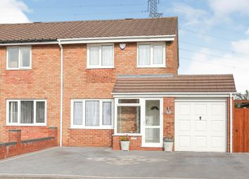 Thumbnail 3 bed semi-detached house for sale in Doncaster Way, Hodge Hill, Birmingham