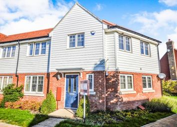 Thumbnail 3 bed semi-detached house for sale in Brambling Avenue, Finberry, Ashford, Kent