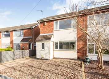 Thumbnail 3 bed semi-detached house for sale in Lochmore Drive, Hinckley, Leicestershire