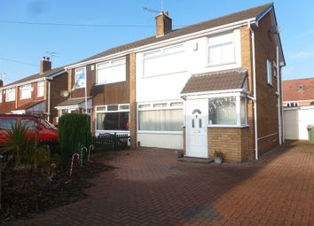 Thumbnail 3 bed semi-detached house for sale in Pembroke Avenue, Moreton, Wirral