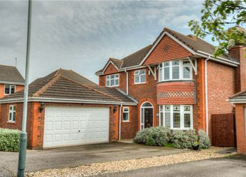 Thumbnail 4 bed detached house for sale in Jourdain Park, Heathcote, Warwick