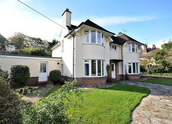 Thumbnail 4 bed detached house for sale in Woolbrook Road, Sidmouth, Devon