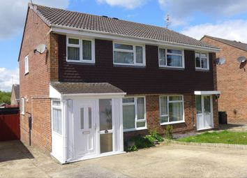 Thumbnail 3 bed semi-detached house for sale in Kestrel Close, Ferndown