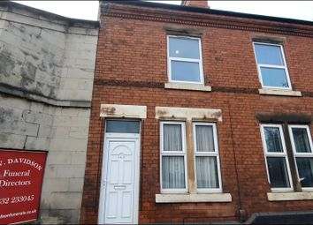 Thumbnail 2 bed terraced house to rent in Ashbourne Road, Derby