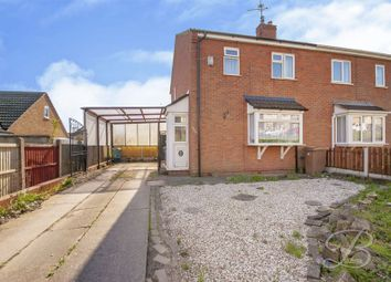 Thumbnail 3 bed semi-detached house for sale in Brick Kiln Lane, Mansfield