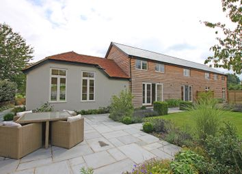 Thumbnail 5 bed detached house for sale in Houghton, Stockbridge, Hampshire