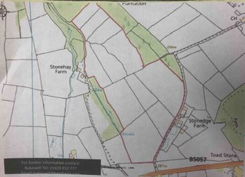 Thumbnail Land to let in 30.3 Ac. Shooting, Stonedge, Derbyshire.
