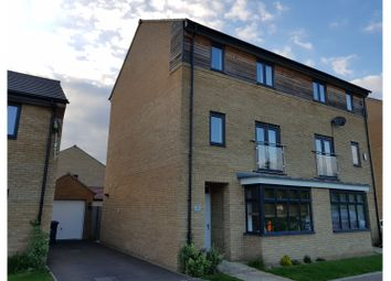 Thumbnail 4 bed town house for sale in Tern Drive, Hemingford Grey