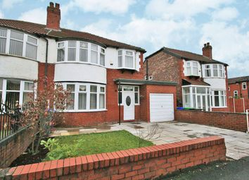 Thumbnail 3 bedroom semi-detached house for sale in Mauldeth Road, Manchester