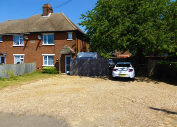 Thumbnail 2 bed semi-detached house for sale in Stoke Road, Wereham, King's Lynn